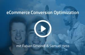 Optimieren, Optimieren mit Fabian Gmeindl und Samuel Hess